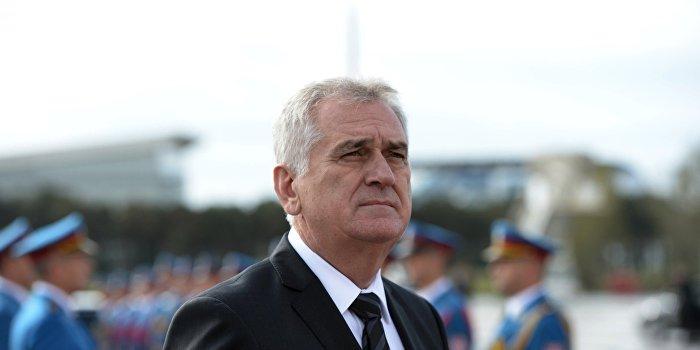 Президент Сербии исключил возможность введения санкций против России