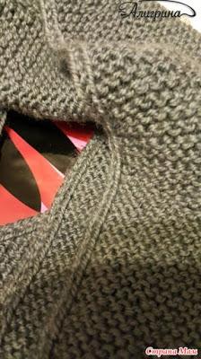 В помощь вязальщицам: Как сделать кромку шарфа, снуда, палантина двусторонней, плотной и красивой