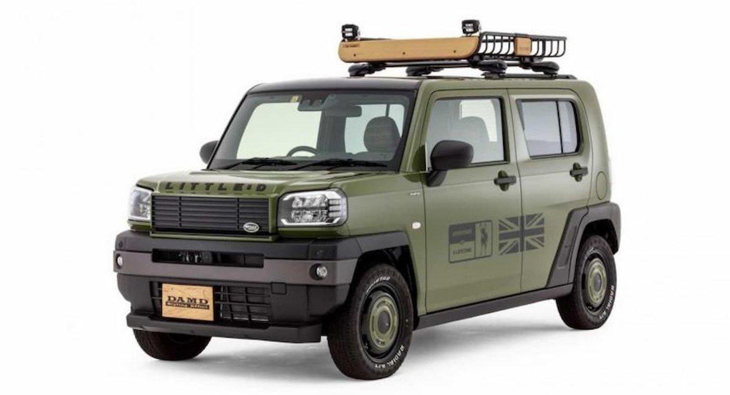 Для Daihatsu Taft придумали тюнинг-пакет в стиле Defender Автомобили