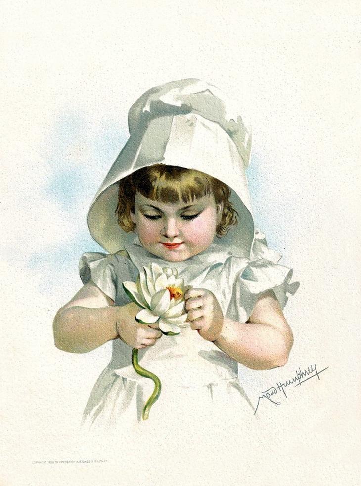Описанием, открытки художницы с детьми