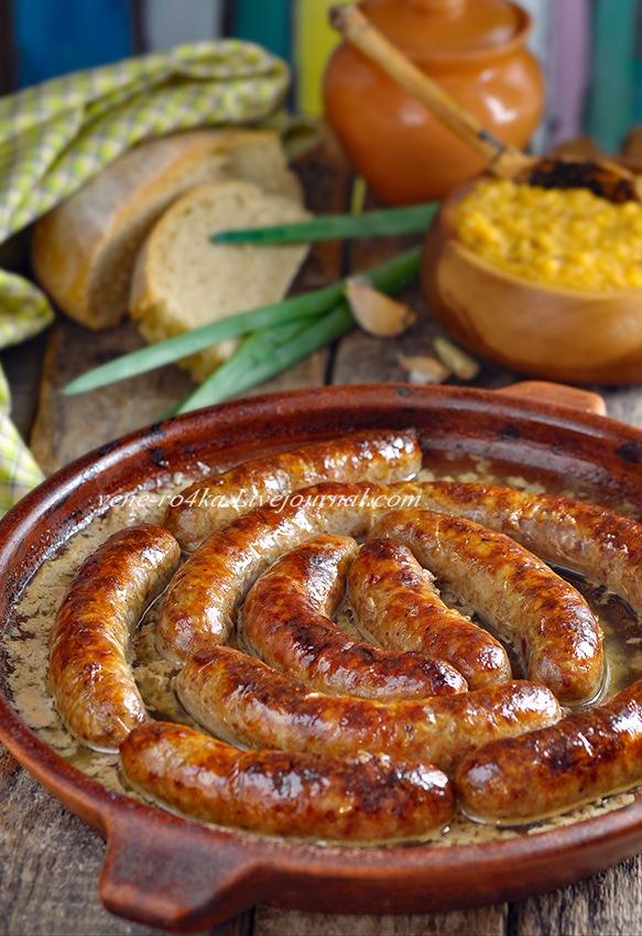 Тутырма с гороховой кашей. Татарская кухня