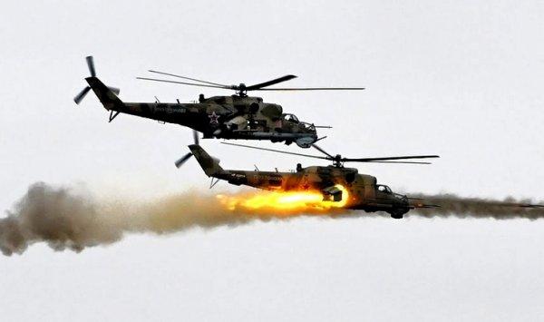 Мокрого места не оставили: российские Ми-24 устроили боевикам в Сирии «смертельную карусель»