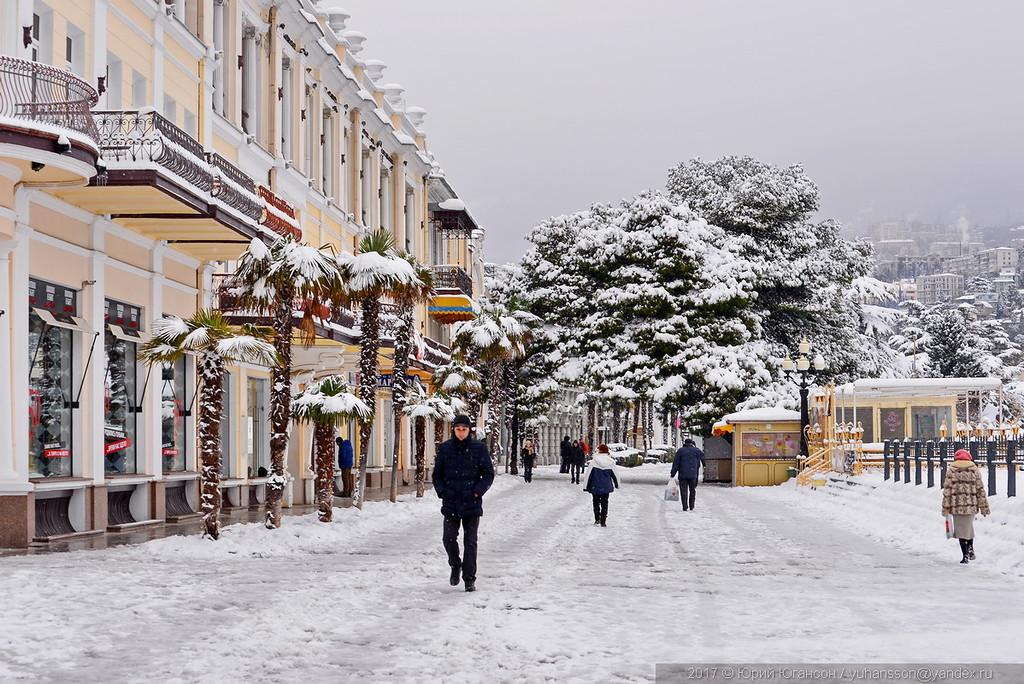 Ялта в снегу или АССА-2017
