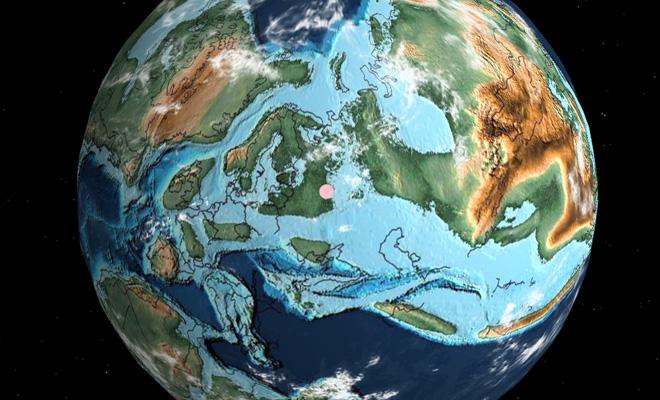 Где находился ваш дом миллионы лет назад: ученые показали карту Культура