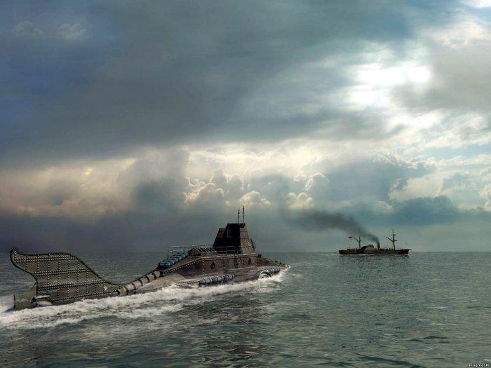 Подводная лодка «Наутилус». | Фото: Pikabu.