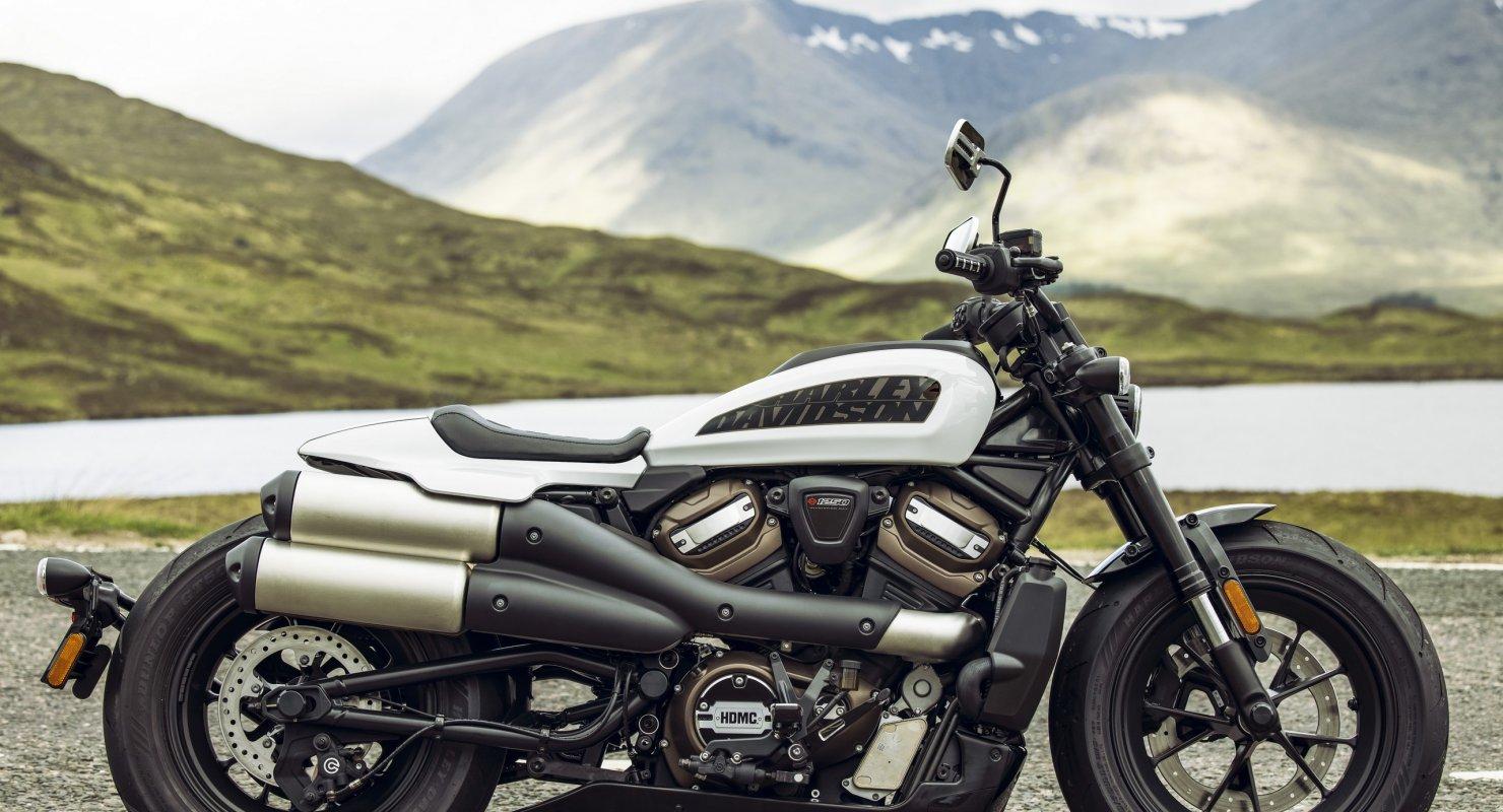 Новый Harley-Davidson с безрамной конструкцией Автомобили
