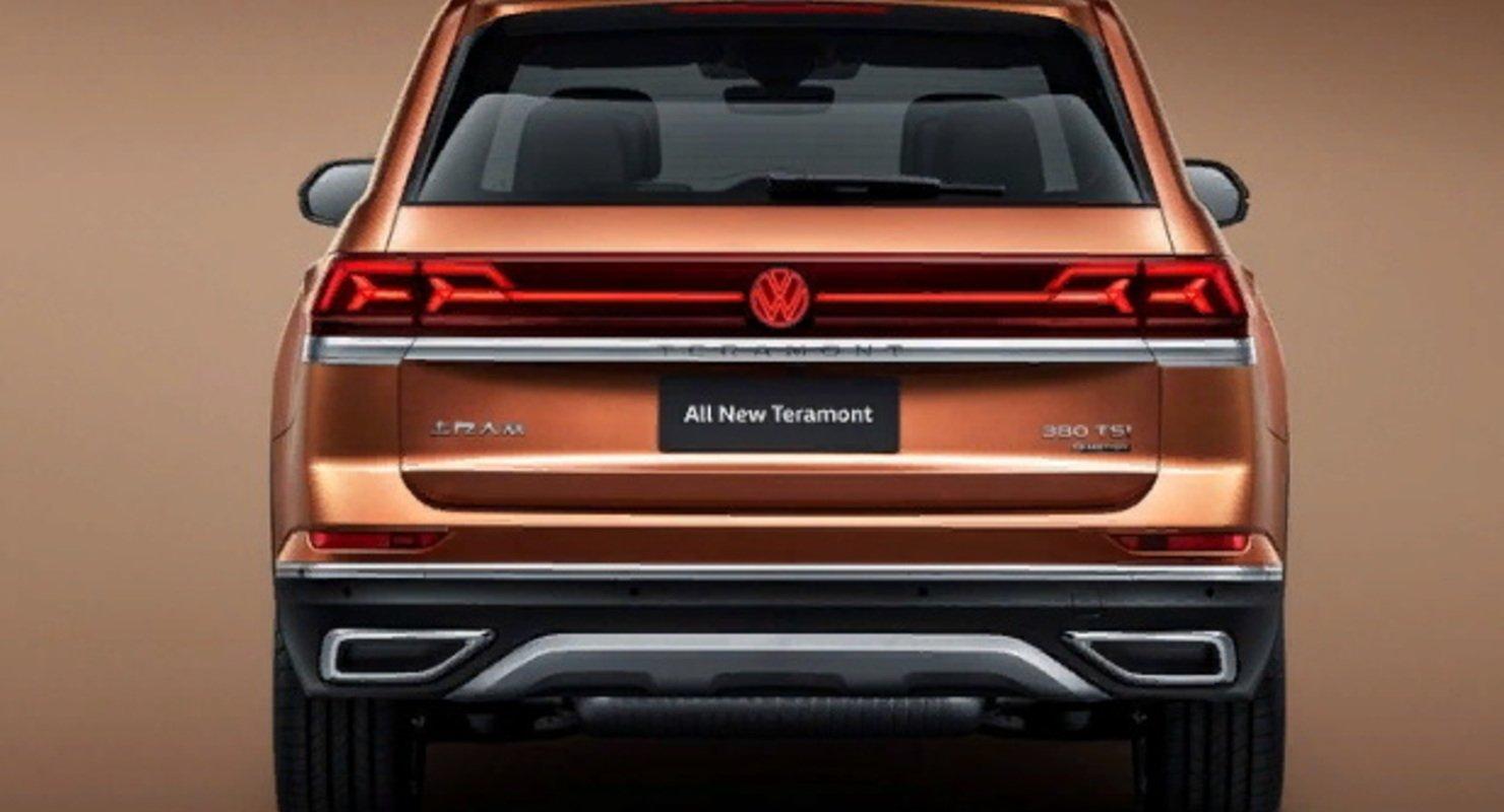 Volkswagen анонсировал другой обновлённый Teramont для рынка Китая Автомобили