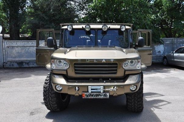 Булат на базе ГАЗ-66