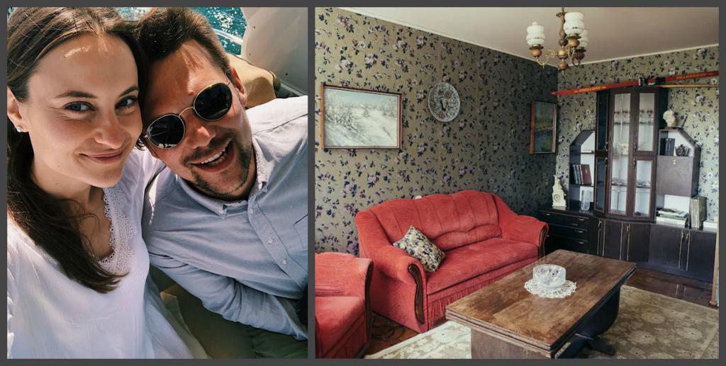 От кухни до ванной комнаты. После просмотра сериала -Чернобыль- молодая пара из Вильнюса воссоздала в своей квартире советский дизайн интерьера