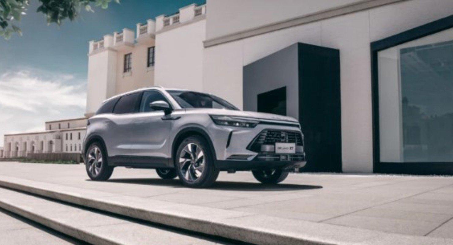 Совершенно новый кроссовер Beijing X7 Plus практически готов к выходу на рынок Автомобили
