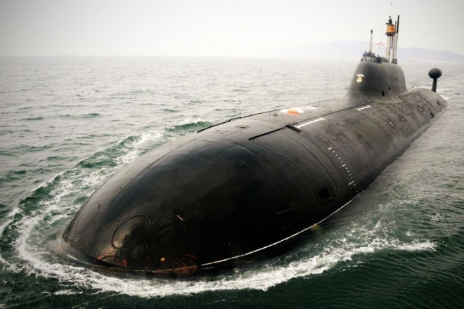 Как моются на атомной субмарине