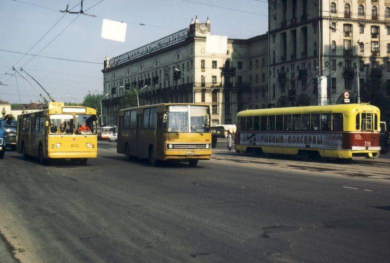 Транспорт нашего советского  детства