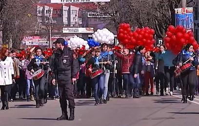 Россия отмечает возвращение Крыма в состав страны