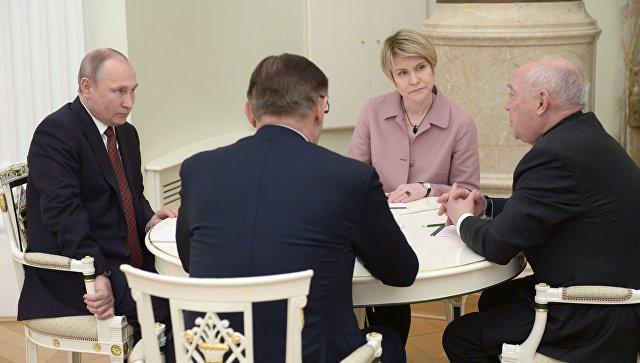 Путин рассказал о приоритетах своего четвертого срока