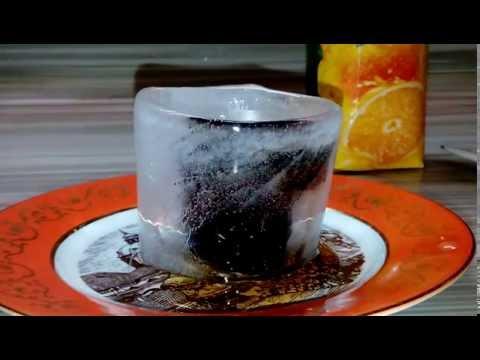 Как сделать из льда стопки, рюмки, бокалы своими руками. Удиви друзей