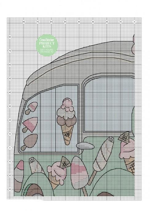 """Вышивка """"Веселый автобус"""" вышивка,схемы"""