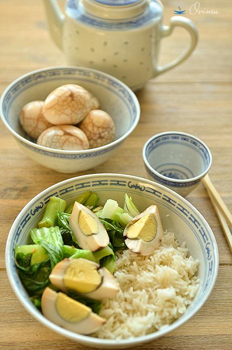 Китайская кухня. Чайные яйца