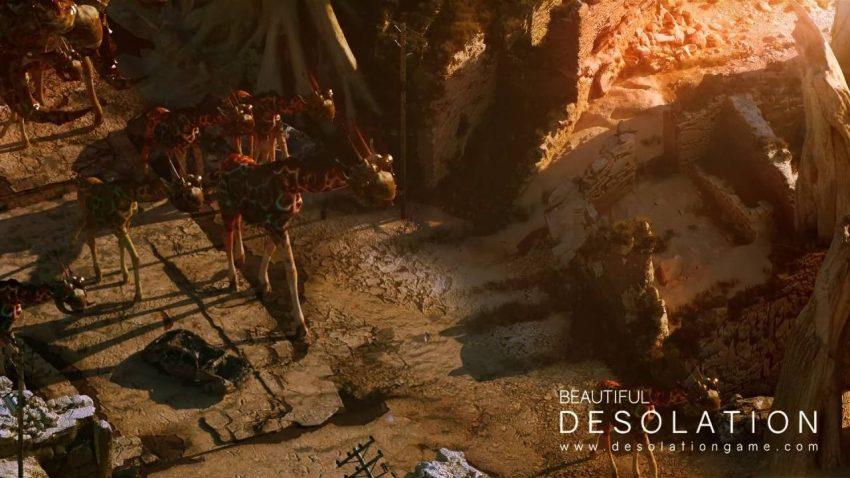 Beautiful Desolation — омерзительное, но такое необычное будущее. Рецензия