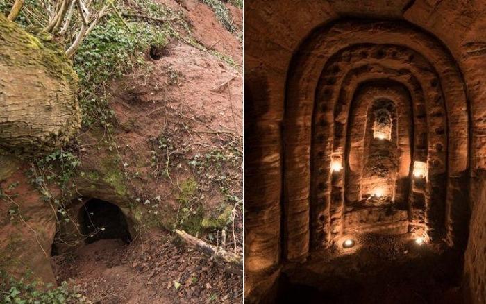В Англии обнаружена пещера тамплиеров: таинственное подземелье с 700-летней историей