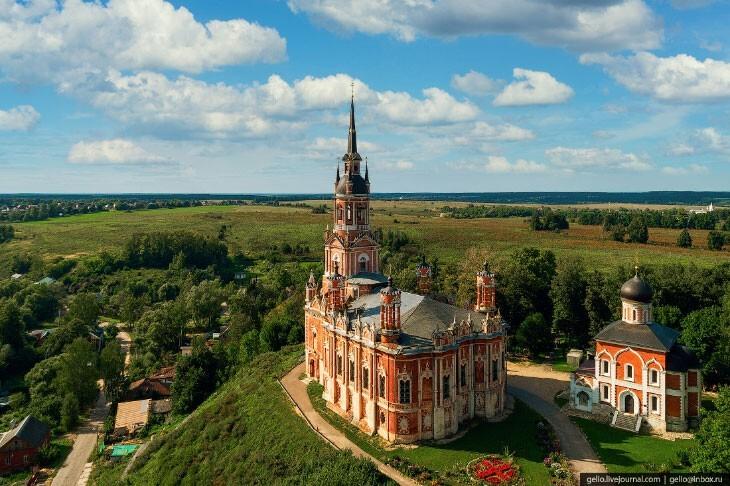 В сердце России: головокружительное Подмосковье с высоты птичьего полёта
