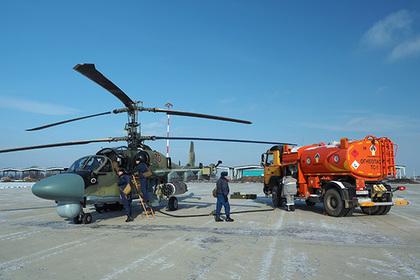 Первый вертолет Ка-52 для Египта приступил к испытаниям