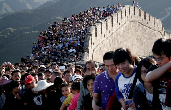 Фотографии, показывающие, насколько многолюден Китай