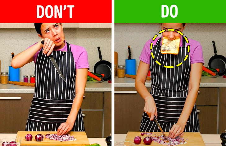 Лайфхаки, которые убавят проблем с приготовлением пищи