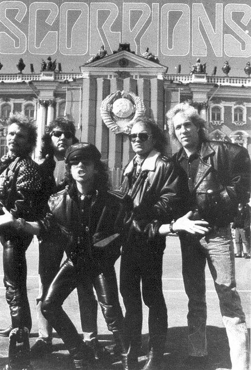 Scorpions в СССР. было, история, фото