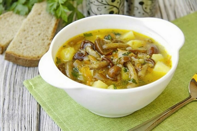 Гречневый суп с ГРИБАМИ за ПОЛЧАСА! Что может быть проще.