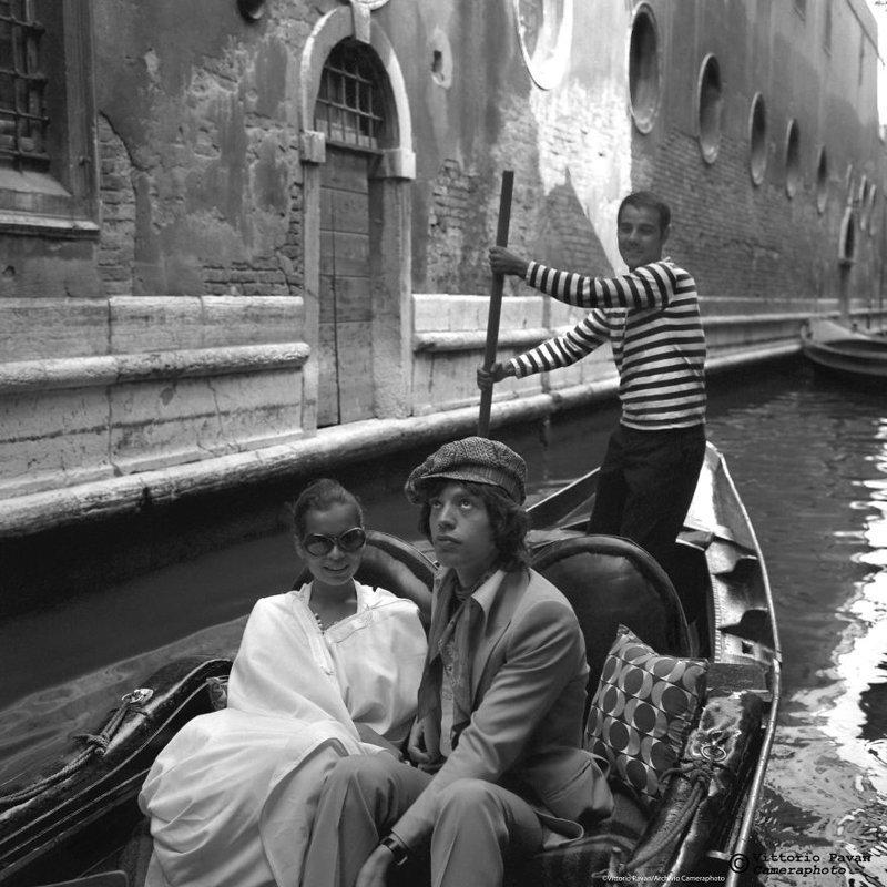 Мик Джаггер архив, венеция, негативы, фотографии