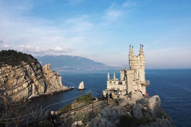 Украинский телеканал показал сюжет с картой без Крыма