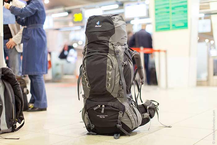 Что у вас в рюкзаке?