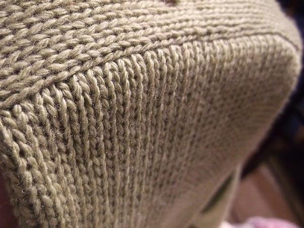 Как красиво вшить рукав в вязаное изделие