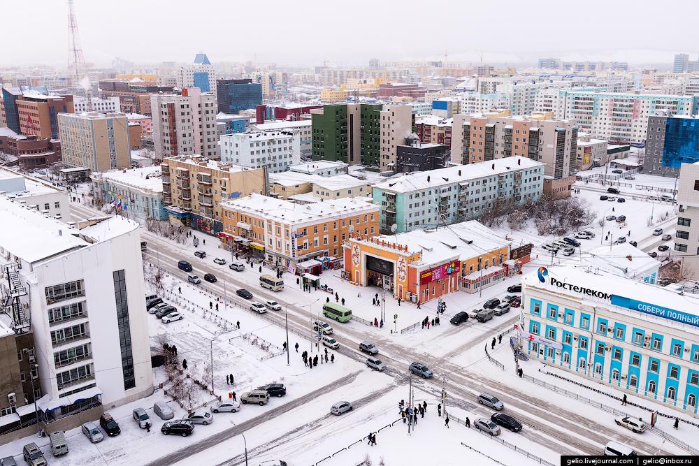 Якутия город фото