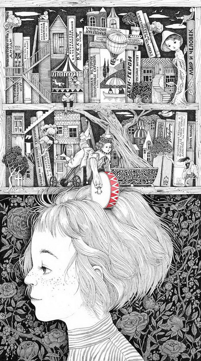 Детские воспоминания Светы Дорошевой. Милые и очень искренние иллюстрации художницы