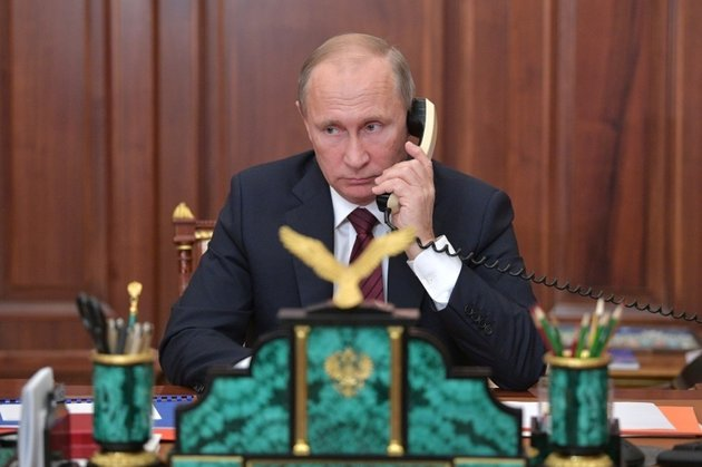 Путин поздравил Трампа с Новым годом