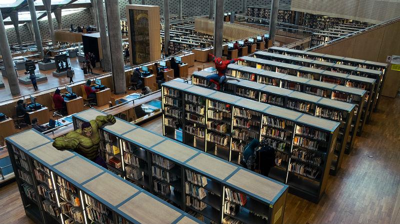 Главная достопримечательность Александрии – библиотека