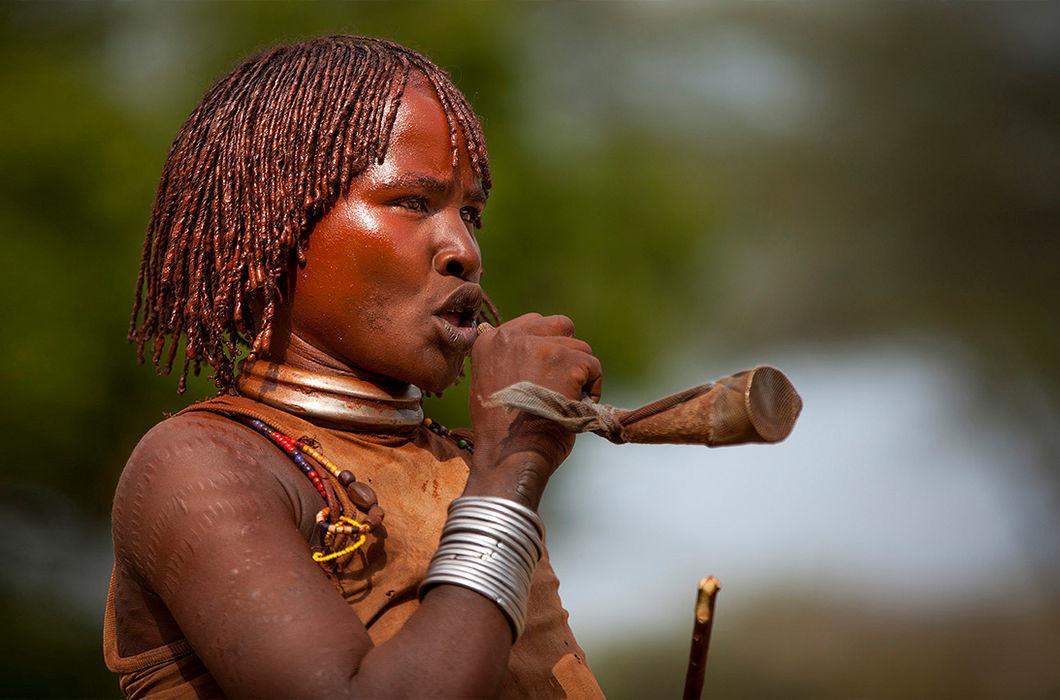 Эфиопия волосы, прическа