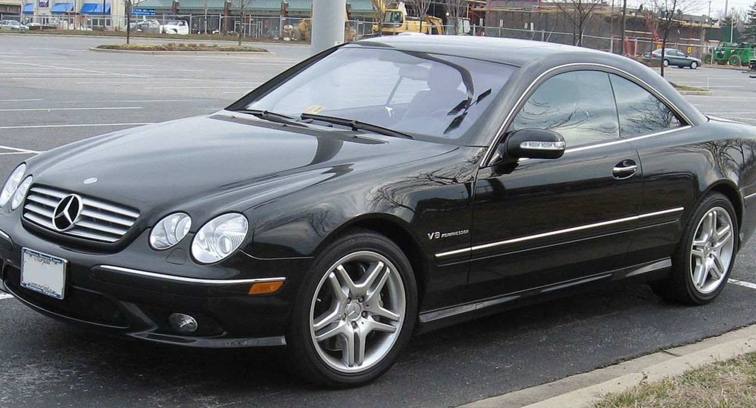 Mercedes CL 500 после 23 лет эксплуатации разогнали на автобане Автомобили