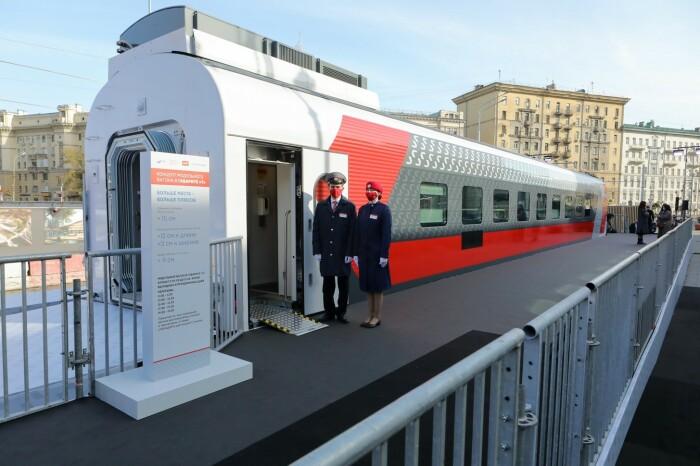 Плацкарта-2021: РЖД представили новый концепт вагонов