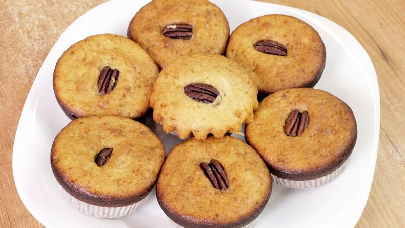 Творожные кексы - видео рецепт