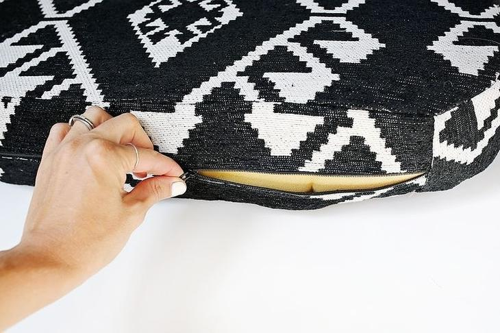 Как обновить подушки для кресла: мастер-класс домоводство