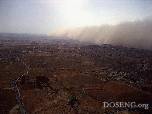 Песчаная буря (13 фото)