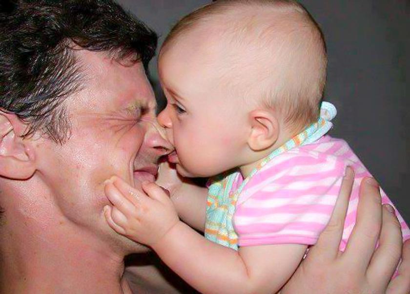 Смешные фото с детьми и родителями