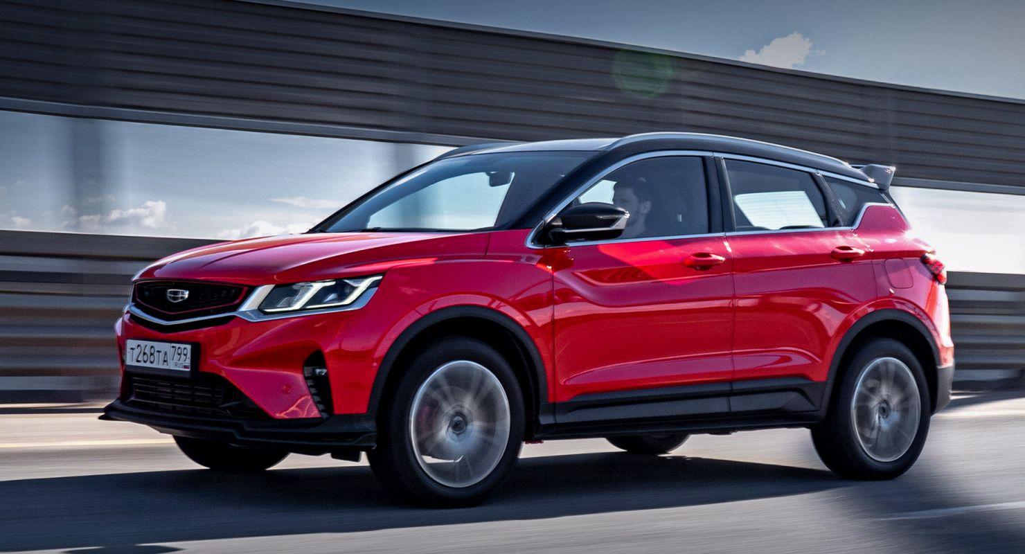 Geely в 2020 году увеличил продажи в России на 61% Автомобили