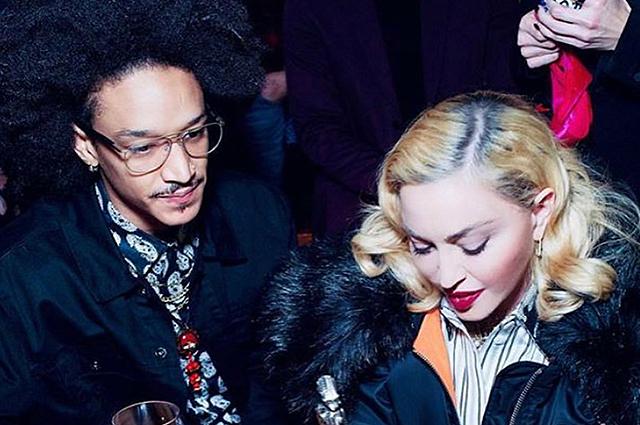 Мадонна поздравила своего бойфренда Ахламалика Уильямса с 26-летием Звездные пары