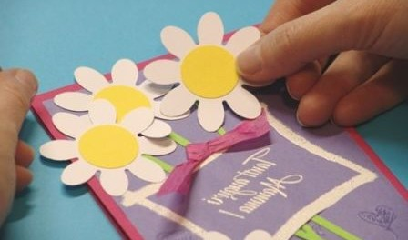 Как сделать красивую открытк…