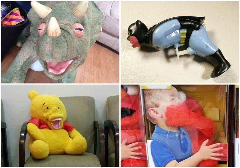 30 странных детских игрушек, на которые больно смотреть
