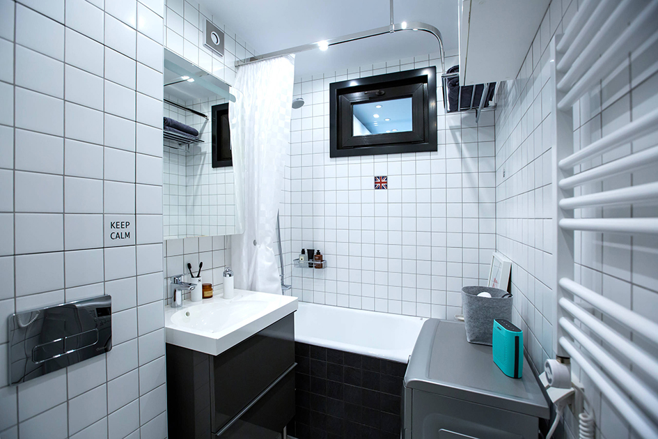Загадка хрущевок: зачем нужно окно между ванной и кухней идеи для дома,ремонт и строительство