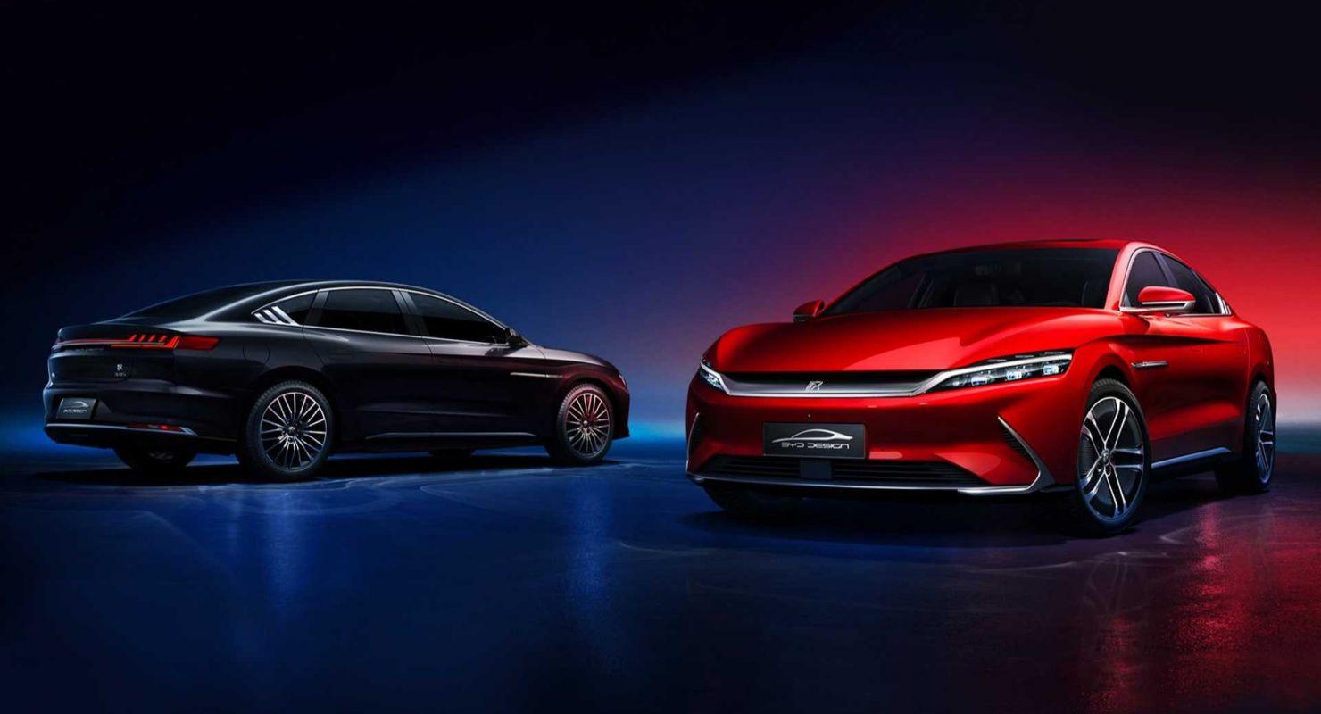 Гиперкар BYD Han сравнили в дрэг-гонке с GLE AMG Audi S4, Lamborghini Huracan и Tesla Model 3 Автомобили